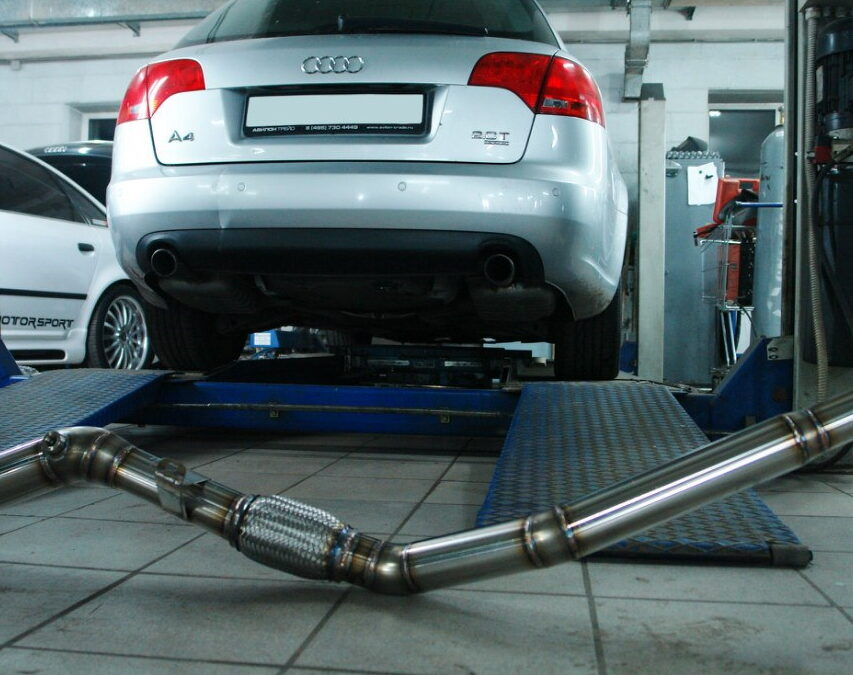 Мощностной тюнинг Stage1, Stage2 и Stage2+ для 2.0 TFSI Audi A4 B7