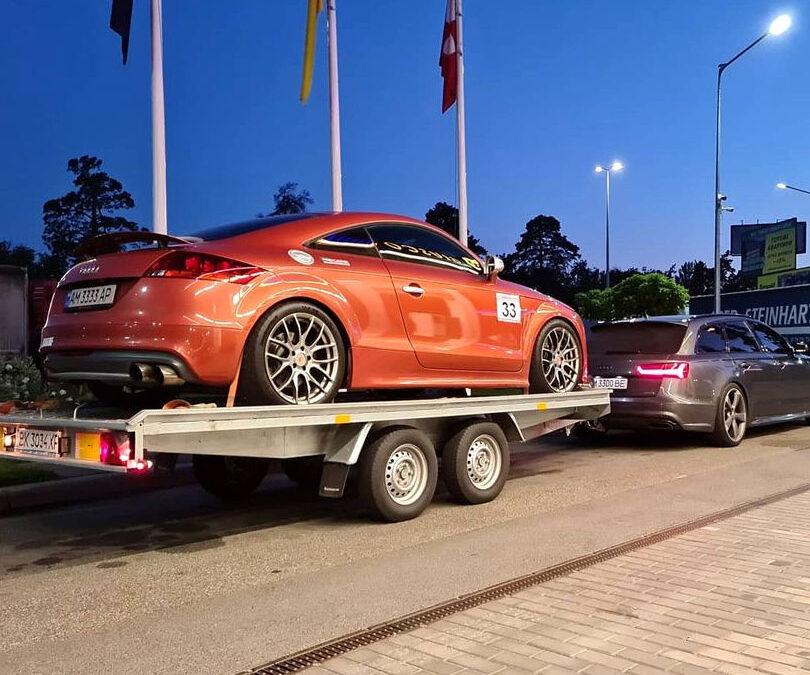 Audi TTS 2.0TFSI Stage4 TTE480 1/4mile = 11.1 sec.