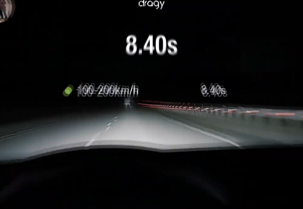 Skoda Octavia RS A7 AWD Stage3 AGP 100-200 = 8.4 sec