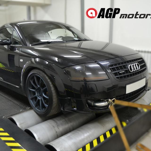 Настройка Audi TT 1.8 Stage4 425Hp