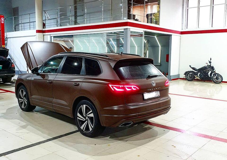 Чип-тюнинг VW Touareg new 3.0TSI / 3.0TDI