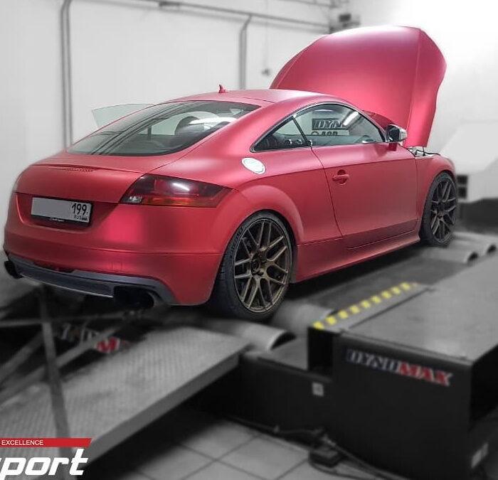 Audi TTS 2.0TFSI Stage4 EFR7163 1/4mile =11.05sec. 100-200 =7.1sec.