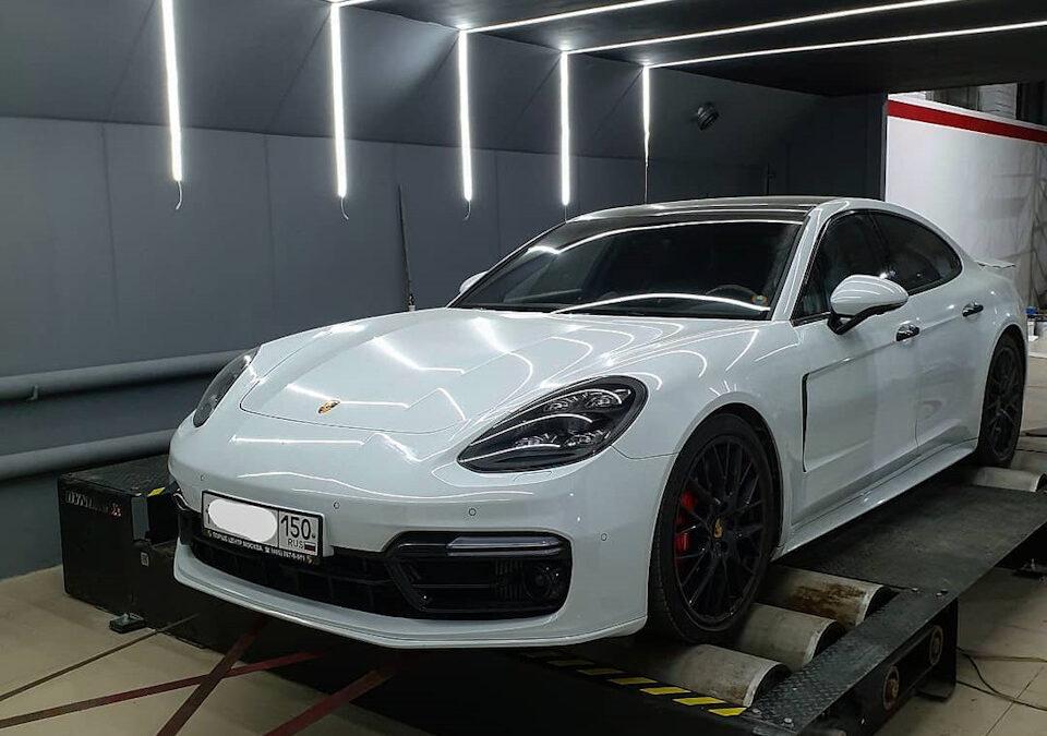 Porsche Panamera Turbo(971) Первый в мире Stage2