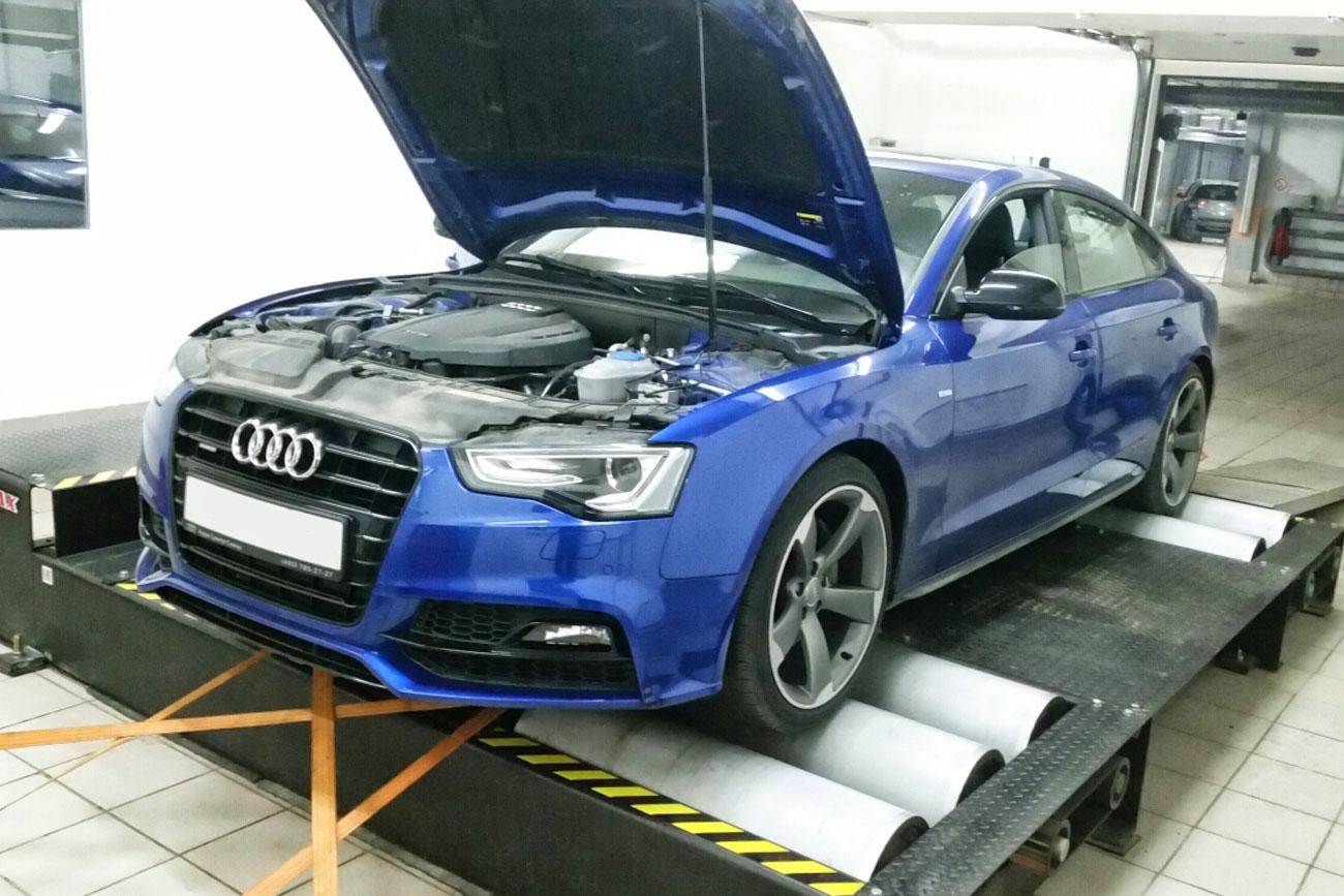 Настройка на стенде Audi A5 2.0TFSI - AGP Motorsport