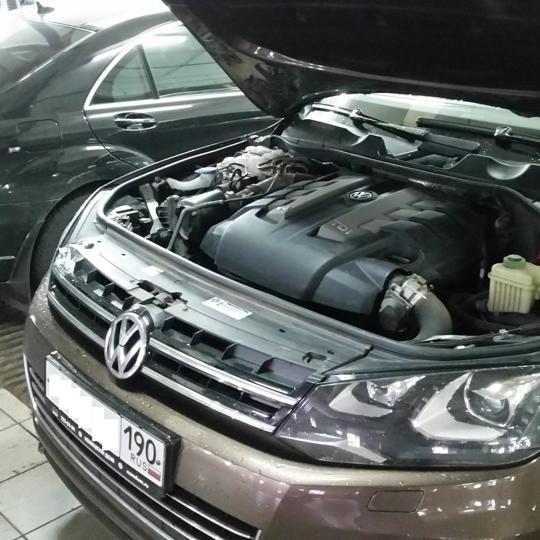VW Touareg 3.0 TDI 204hp Stage1 0-100 = 6.2 sec