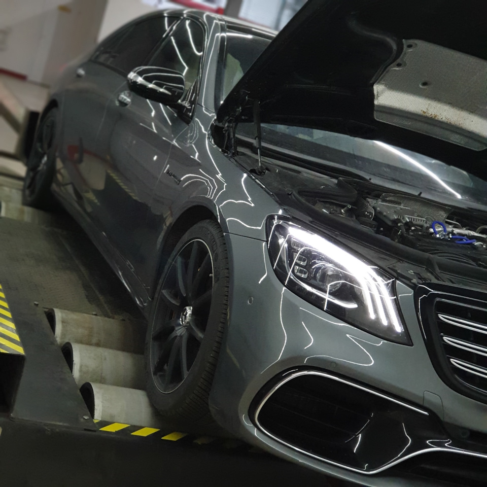 Mercedes W222 S63 AMG 4.0BiTurbo Stage2+ 890hp AGPmotorsport