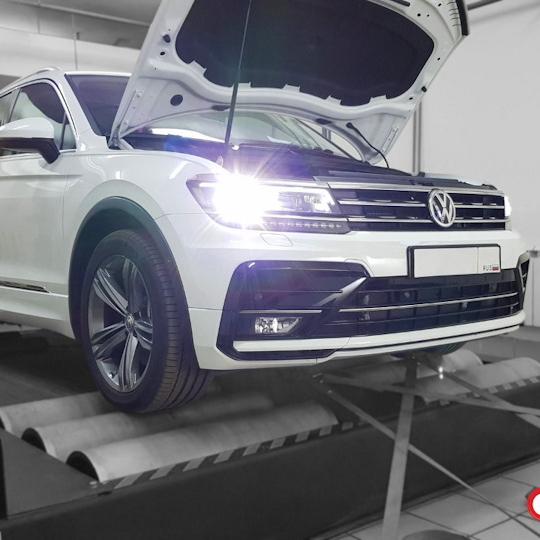 VW Tiguan new 2.0TSI 220hp Stage2 335hp 480Nm 0-100=4.6-4.8sec