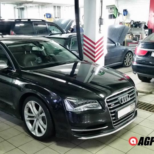 Еще одна Audi S8 D4 V8 4.0 TFSI — настройка по пожеланиям владельца.