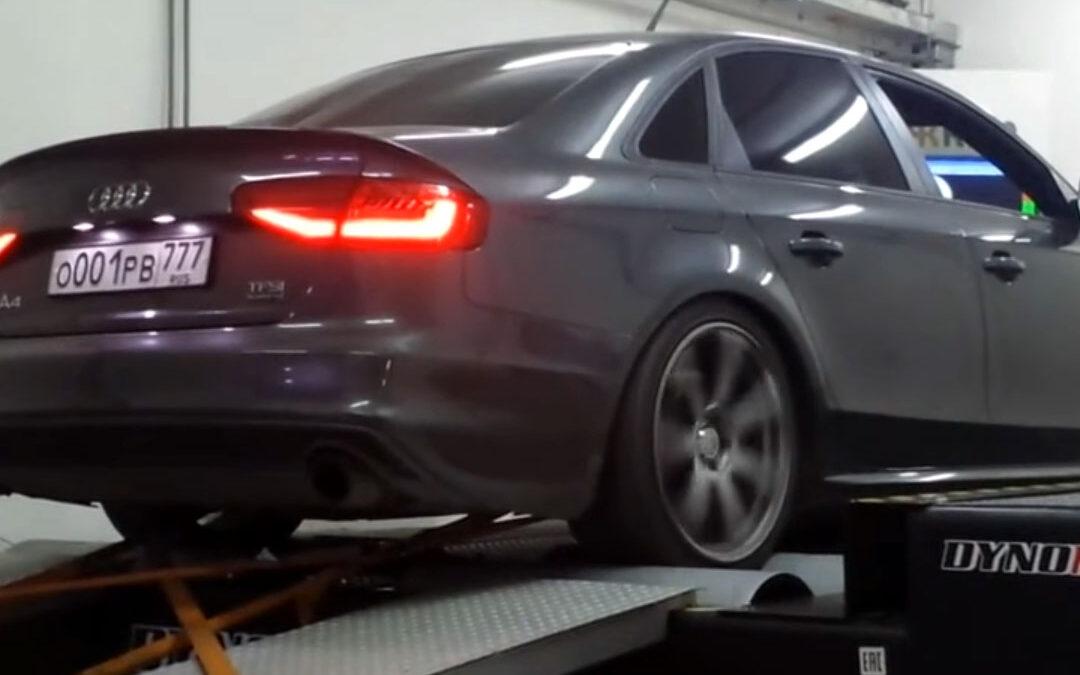 Замеры и настройка на мощностном стенде в AGP Motorsport