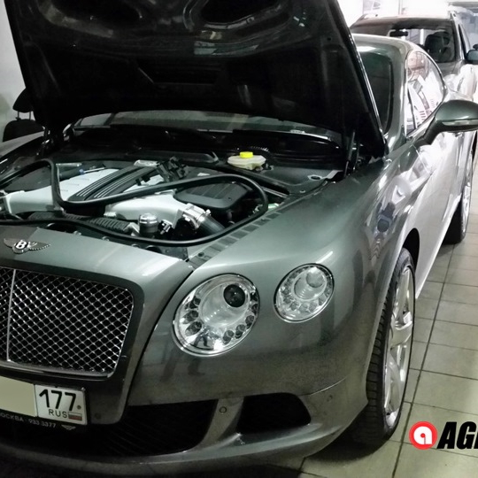 Bentley Continental GT W12 6.0 twinturbo Stage1
