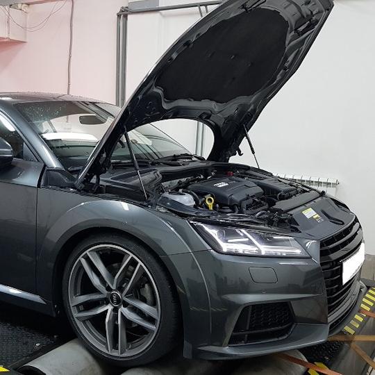 Audi TT 8S 2.0TFSI gen3 230hp Stage1 и Stage2