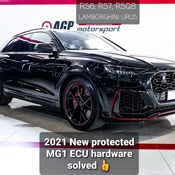 Audi RSQ8 2021 Stage2 800hp | Protected MG1CS008 solution