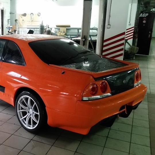 Выпускной коллектор Nissan GT-R RB26