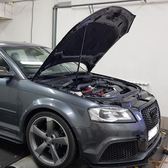 Audi RS3 2.5TFSI Loba500 100-200 = 7.8 sec