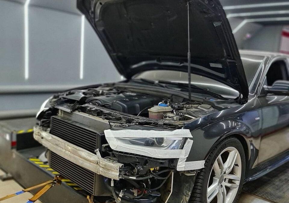 Audi A4 B8 2.0 211hp Stage3 100-200 = 10.8 sec.