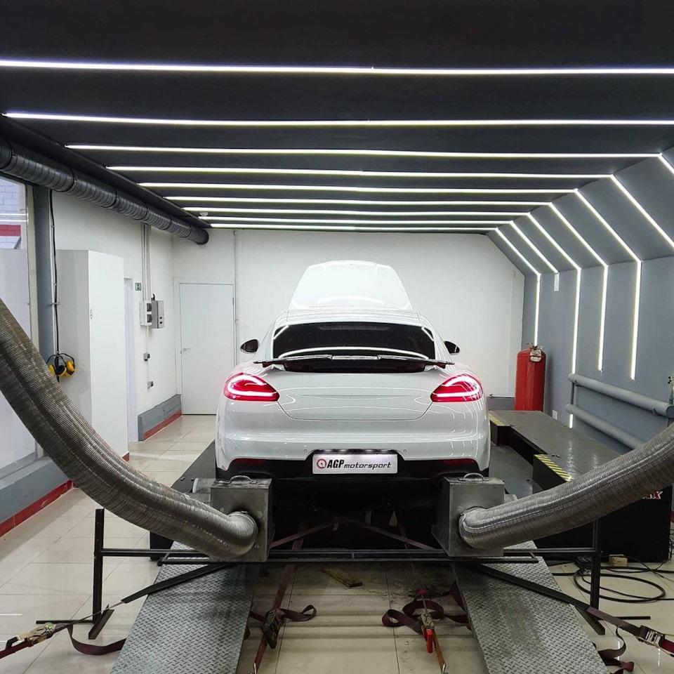 Porsche Panamera 970 Turbo 4.8TT Stage2