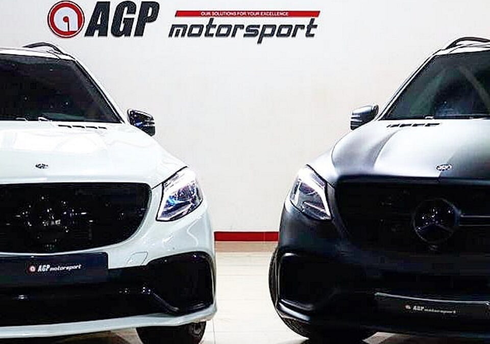 Mercedes GLE63 AMG STAGE1