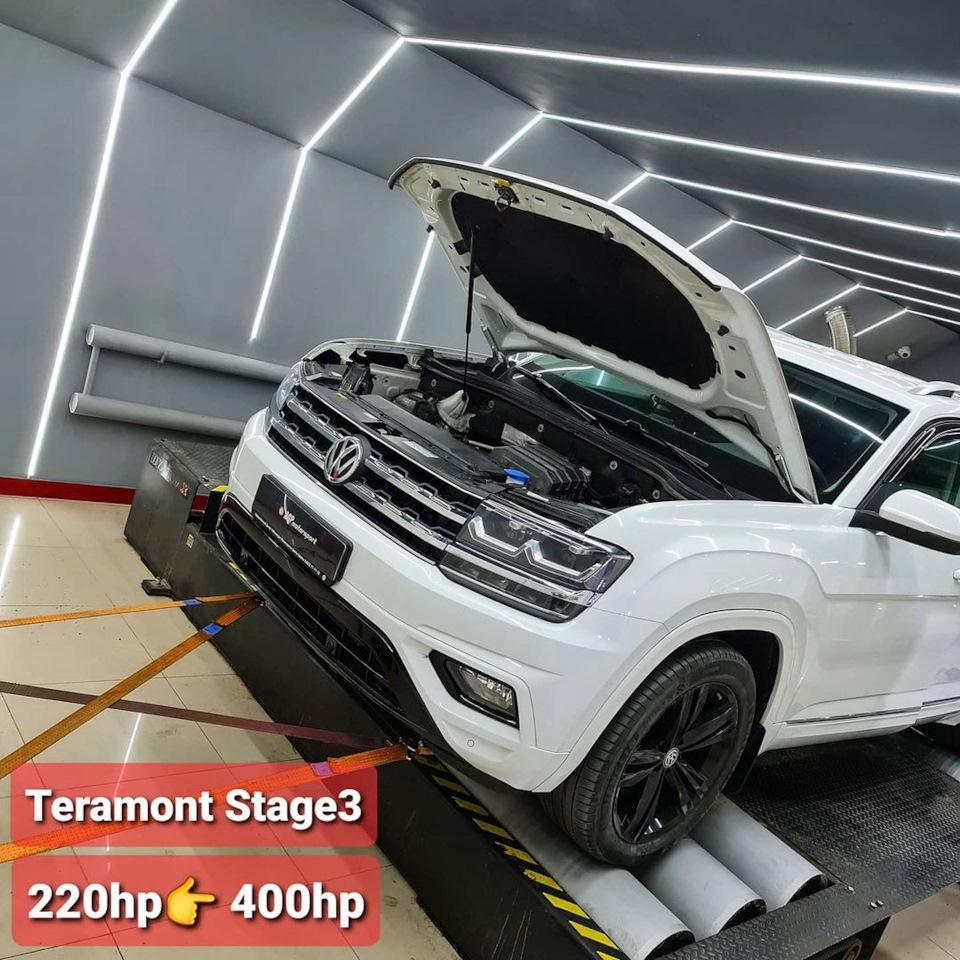 VW Teramont(Atlas) 2.0TSI 400hp Stage3 AGP motorsport