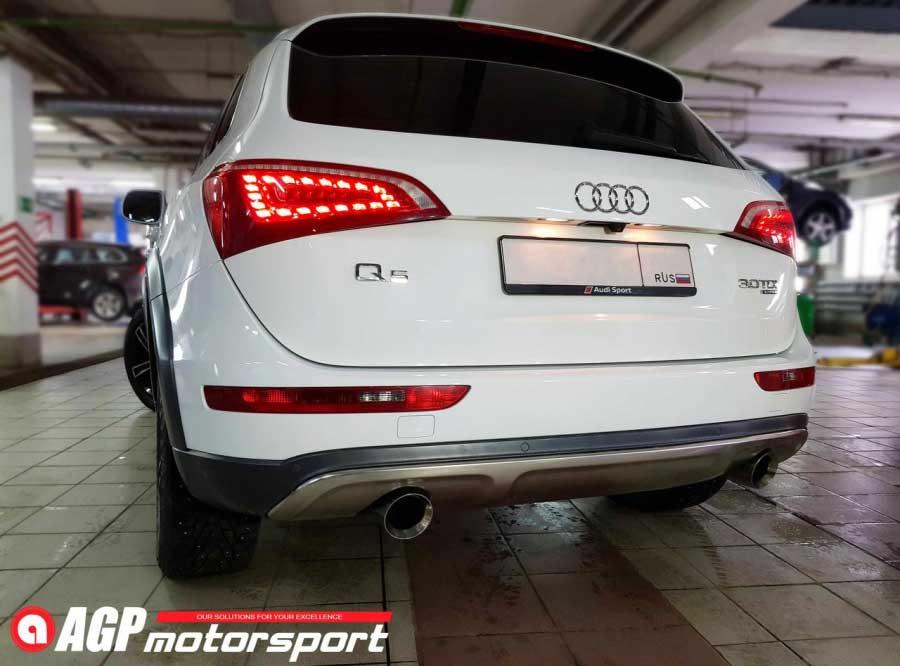 Чип-тюнинг для Audi Q5 3.0TDI Stage2 - AGP Motorsport