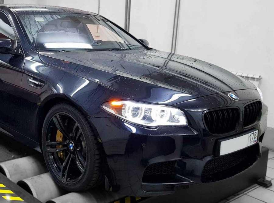 Чип-тюнинг для BMW 550Xi 4.4TT Stage 3 675hp - AGP Motorsport