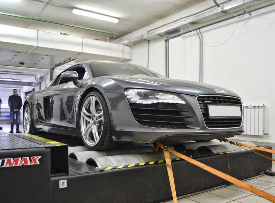 Чип-тюнинг для Audi R8 4.2FSI Stage 2 - AGP Motorsport