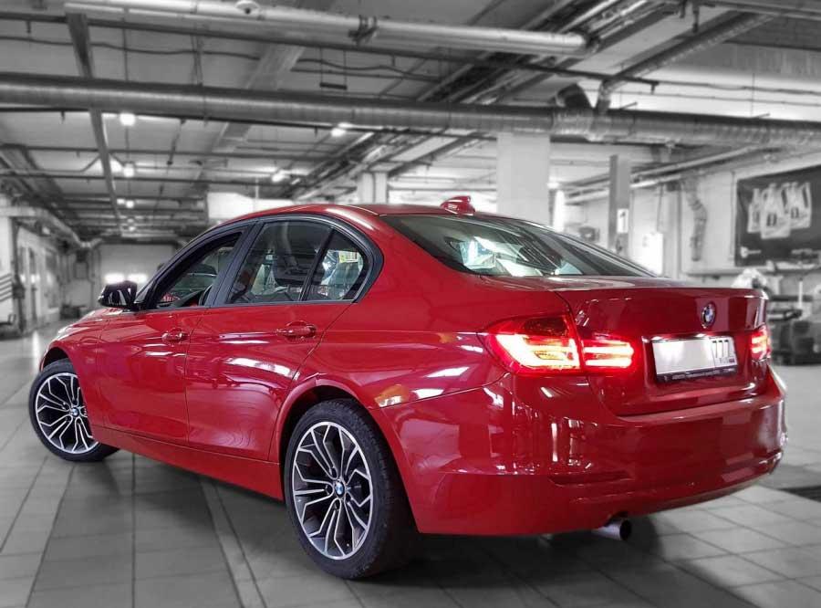 Чип-тюнинг для BMW 316i Stage1 - AGP Motorsport