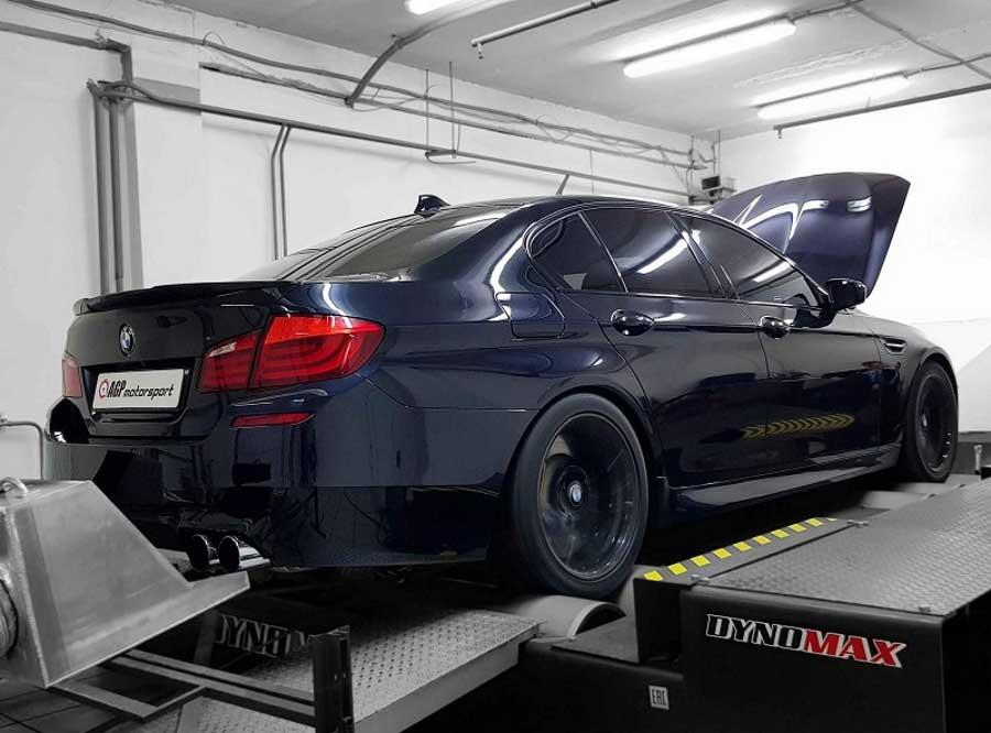 Чип-тюнинг для BMW 550i настройка на стенде - AGP Motorsport
