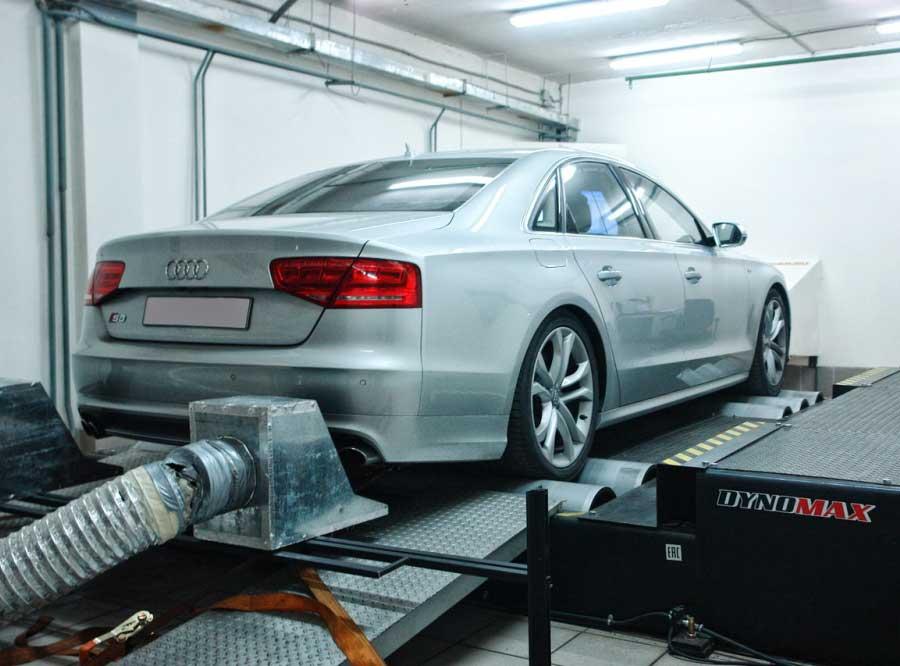 Настройка на стенде Audi S8 D4 4.0TFSI - AGP Motorsport