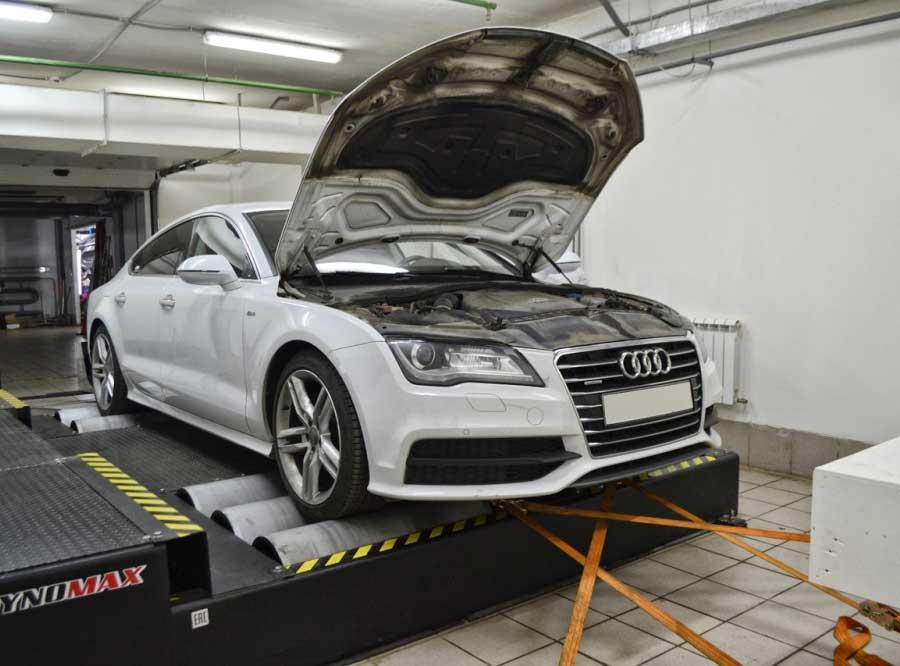 Чип-тюнинг для Audi A7 3.0TDI - AGP Motorsport