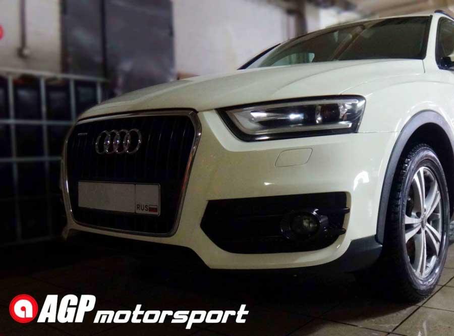 Чип-тюнинг для Audi Q3 2.0TDI Stage1 - AGP Motorsport