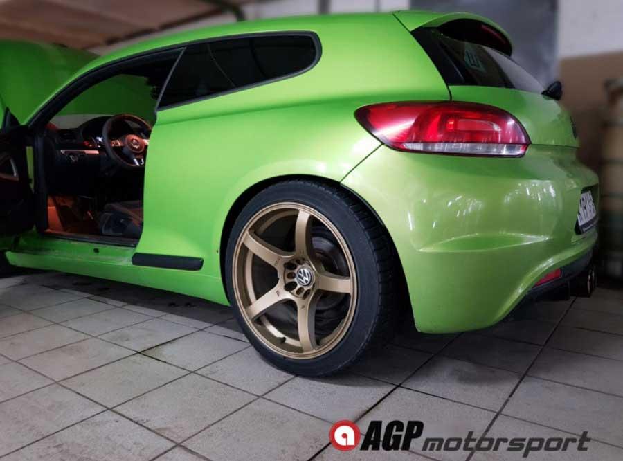 Чип-тюнинг для VW Scirocco 2.0TSI Stage2 - AGP Motorsport