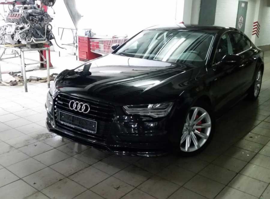 Чип-тюнинг для Audi A7 3.0TDI Stage 1 - AGP Motorsport