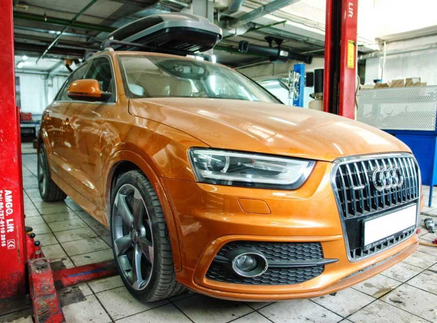 Чип-тюнинг для Audi Q3 2.0TFSI – Stage 2+ - AGP Motorsport