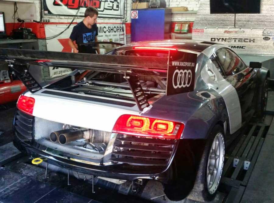 Чип-тюнинг для Audi R8 4.2FSI Custom - AGP Motorsport