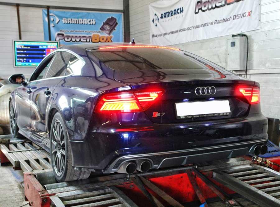 Чип-тюнинг для Audi S7 4.0TFSI Stage 2 - AGP Motorsport