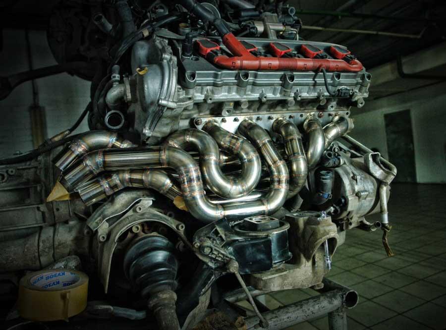 Выпускной коллектор V10 - AGP Motorsport