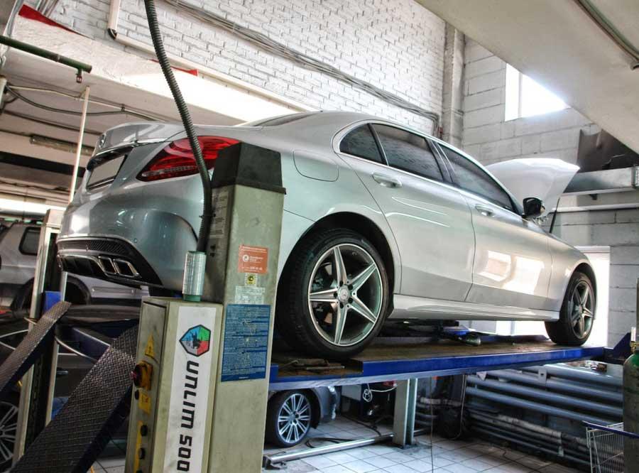 Чип-тюнинг для Mercedes C250 2.0T Stage 2 - AGP Motorsport
