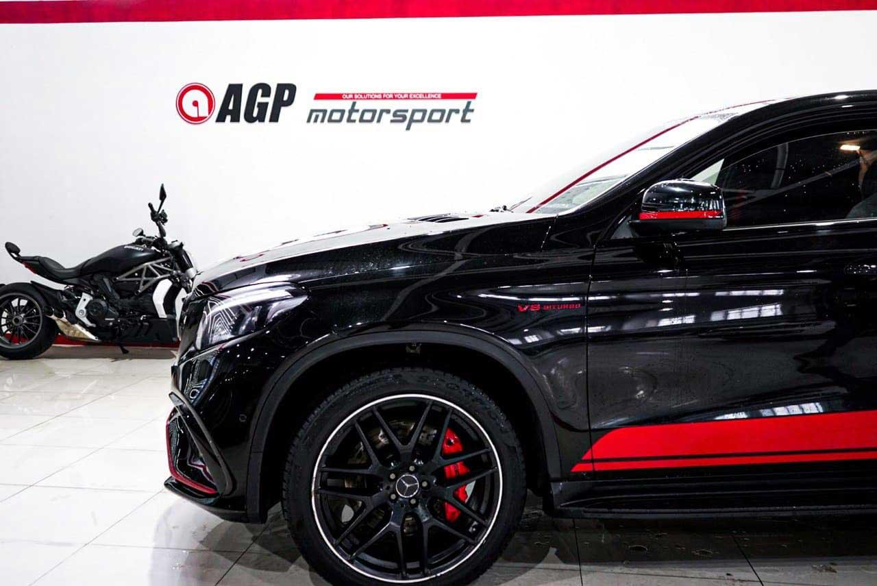 Чип-тюнинг для GLE - AGP Motorsport